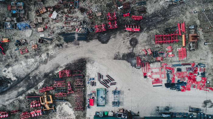 La topografía con drones para construcciones