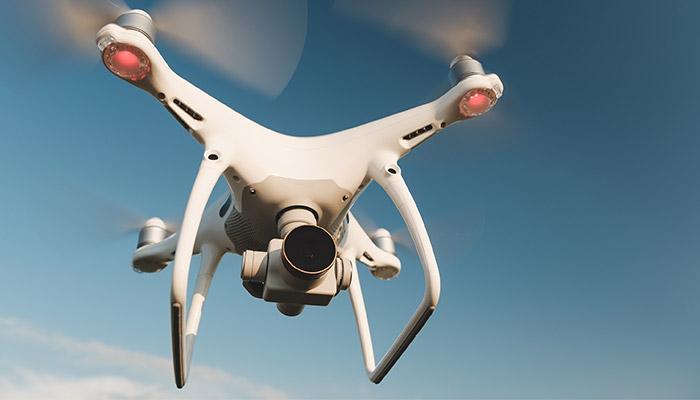 Servicio de drones en nuestro día a día