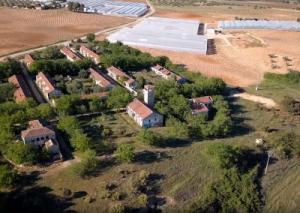 Proyecto de Filmación Aérea con Dron del pueblo abandonado El Alamín en Comunidad de Madrid por Dron Spain