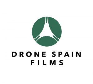 Logo Dron Spain Films Verde y Negro